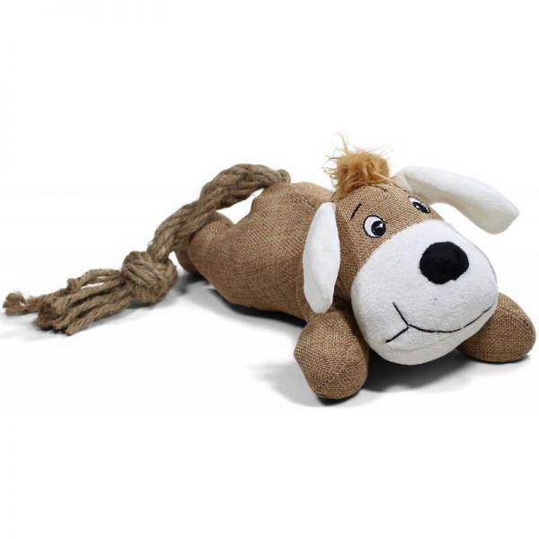 Hund mit Seil 42cm