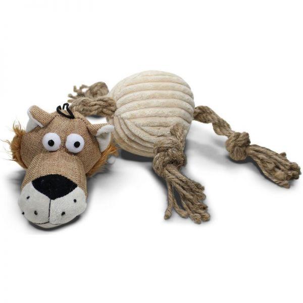 Löwe mit Quietscher 45 cm